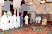 HM King Mohammed VI appoints, at Rabat Royal Palace, several new ambassadors in the diplomatic missions of the Kingdom