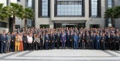 SM el Rey Mohammed VI visita la Dirección General de la Supervisión del Territorio Nacional (DGST) e inaugura su Instituto de formación especializada