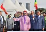 SM el Rey y el presidente congoleño lanzan las obras de construcción del punto de desembarque de Yoro en Brazzaville