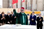 SM el Rey Mohammed VI lanza las obras de construcción de un complejo de animación artística y cultural en el barrio Tabriquet en Salé