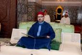 SM el Rey Mohammed VI, Amir Al Muminin, preside en Rabat la primera charla religiosa del mes de Ramadán