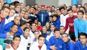 HM King Mohammed VI inaugurates, in El Arjat (Prefecture of Sale), a vocational training centre in El Arjat II local prison and launches a program to support micro-projects and self-employment of ex-convicts - Ramadan 2018