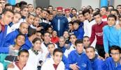 SM el Rey Mohammed VI inaugura en El Arjat (prefectura de Salé) un centro de formación profesional en la prisión local El Arjat II y lanza el programa de apoyo al autoempleo de ex presidiarios-Ramadán 2018