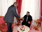 SM el Rey Mohammed VI recibe a un enviado especial del presidente de Nigeria, portador de un mensaje escrito al Soberano
