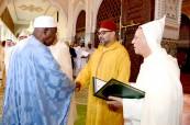 SM el Rey Mohammed VI, Amir Al Muminin, preside en el Palacio Real de Rabat la segunda charla religiosa del mes de Ramadán
