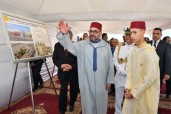 Mohammed V Foundation for Solidarity: HM King Mohammed VI launches construction works of a social Centre for the Elderly, in the province of Mediouna (Casablanca-Settat Region)