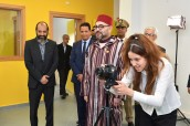 HM King Mohammed VI inaugurates educational & cultural centre to develop youth skills at the Ben M'Sik prefecture in Casablanca