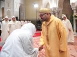 SM el Rey Mohammed VI, Amir Al Muminin, preside en el palacio real de Casablanca la quinta charla religiosa del mes sagrado del Ramadán