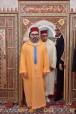 """SM el Rey Mohammed VI, Amir Al Muminin, cumple la oración del viernes en la mezquita """"Al Ijlas"""" en Casablanca"""