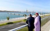 SM el Rey Mohammed VI inaugura el nuevo puerto de pesca y la nueva marina de Tánger, dos proyectos emblemáticos del programa de reconversión de la zona portuaria de Tánger-ciudad
