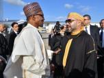El presidente nigeriano llega a Rabat en una visita oficial de amistad y trabajo