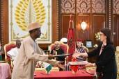 SM el Rey y el presidente nigeriano presiden en el Palacio Real en Rabat la ceremonia de firma de tres acuerdos de cooperación bilateral, entre ellos uno sobre el proyecto estratégico del Gasoducto Nigeria Marruecos