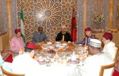 HM King Mohammed VI hosts at the Rabat Royal Palace an official Iftar in honour of Nigerian President, H.E. Muhammadu Buhari