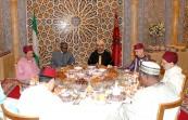 SM el Rey Mohammed VI ofrece en el Palacio Real de Rabat un iftar oficial en honor del presidente de la República Federal de Nigeria, Su Excelencia Muhammadu Buhari