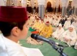 SM el Rey Mohammed VI, Amir Al Muminin, preside en la mezquita Hassan en Rabat una velada religiosa en conmemoración de Laylat Al-Qadr