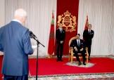SM el Rey Mohammed VI recibe en Alhucemas a Driss Jettou, presidente del Tribunal de Cuenta