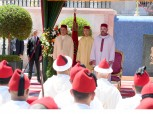 HM King Mohammed VI chairs at the Marchane Palace in Tangier reception on the occasion of the Throne Day