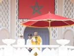 SM el Rey Mohammed VI preside en la Plaza de Mechouar del Palacio Real de Tetuán la ceremonia de prestación de juramento de los oficiales graduados de las grandes escuelas militares y paramilitares