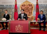 HM King Mohammed VI delivers a speech to the Nation on the occasion of the 65th anniversary of the Revolution of the King and the People