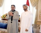 HM King Mohammed VI Attends, at Al Bahr Palace in Abu Dhabi, HH Sheikh Mohammed bin Zayed Al-Nahyan Council, as Part of Sovereign's Visit to UAE Coinciding with Commemoration of 100 Years Since Birth of Late Sheikh Zayed bin Sultan Al-Nahyan