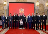 HM King Mohammed VI chairs, at Rabat royal palace, ceremony to present the progress report and executive program on supporting schooling and implementating the reform of education and training