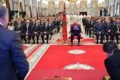 SM el Rey Mohammed VI preside en el Palacio Real en Rabat la ceremonia del lanzamiento de la tercera fase de la Iniciativa Nacional para el Desarrollo Humano (INDH) (2019-2023), concebida según una nueva ingeniería