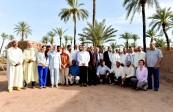 صاحبة السمو الملكي الأميرة للا حسناء تزور بمراكش مشروعين نموذجيين ببرنامج حماية وتنمية واحة نخيل مراكش
