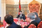 HM King Mohammed VI chairs, at the royal palace in Rabat, a Council of Ministers