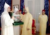 HM King Mohammed VI receives, in Rabat, the speaker of the house of advisors Abdelhakim Benchamach