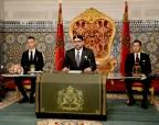 SM el Rey Mohammed VI dirige un discurso a la Nación con motivo del cuadragésimo tercer aniversario de la Marcha Verde
