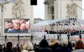 SM el Rey Mohammed VI participa en París en la ceremonia internacional de conmemoración del centenario del Armisticio del 11 de noviembre de 1918
