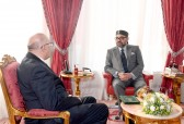 HM King Mohammed VI receive at Rabat's Royal Palace, Omar Seghrouchni