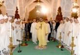 SM el Rey Mohammed VI, Amir Al Muminin, preside en la mezquita Hassan en Rabat una velada religiosa en conmemoración de Aid Al-Mawlid Al-Nabawi Acharif