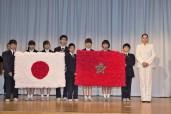 """صاحبة السمو الملكي الأميرة للا حسناء تزور مدرسة """"أوموري"""" بطوكيو"""