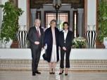 صاحبة السمو الملكي الأميرة للا مريم تستقبل بمراكش الأميرة أستريد، ممثلة عاهل بلجيكا