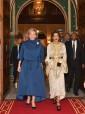 صاحبة السمو الملكي الأميرة للا مريم تترأس، بقصر الضيافة بأكدال بالرباط، مأدبة عشاء أقامها جلالة الملك على شرف الأميرة أستريد لبلجيكا