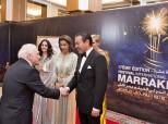 صاحب السمو الملكي الأمير مولاي رشيد يترأس، بقصر المؤتمرات بمراكش، حفل عشاء أقامه صاحب الجلالة بمناسبة الافتتاح الرسمي لفعاليات الدورة ال17 للمهرجان الدولي للفيلم بمراكش