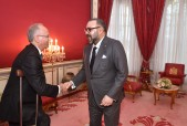 HM King Mohammed VI receives at Rabat Royal Palace Mohamed Bachir Rachdi and appoints him president of the national authority for probity, prevention and fight against corruption