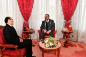 SM el Rey Mohammed VI recibe en el Palacio Real de Rabat a Sr. Mohamed Benalilou y lo nombrade en el puesto del Mediador