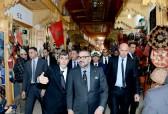 SM el Rey Mohammed VI visita varios proyectos inscritos en el marco del programa de rehabilitación de la medina de Rabat