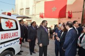 HM King Mohammed VI inaugurates, at the medina of Marrakesh, a primary health care center and an addiction center,two solidarity-based projects to reinforce medical offer in Medina of Marrakesh