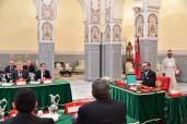 SM el Rey Mohammed VI preside en el Palacio Real de Marrakech un Consejo de Ministros