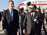 SS.MM. los Reyes Don Felipe VI y Doña Letizia, Soberanos del Reino de España, llegan a Marruecospara una visita oficial a Marruecos por invitación de SM el Rey Mohammed VI