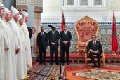 SM el Rey Mohammed VI recibe en el Palacio Real de Rabat a los nuevos walis y gobernadores de las administraciones territorial y central