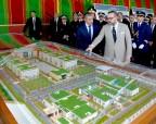 SM el Rey lanza en el barrio Riad en Rabat las obras de construcción de la nueva sede de la Dirección General de Seguridad Nacional, vector de modernidad y eficiencia