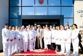SM el Rey Mohammed VI inaugura el Centro de Radiología y Análisis Médicos de la Seguridad Nacional en el barrio Ryad de Rabat, una infraestructura sanitaria dotada de las últimas tecnologías según los estándares internacionales