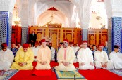 HM King Mohammed VI, Commander of the Faithful, Performs Friday Prayer at Hassan Mosque in Rabat