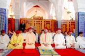 SM el Rey Mohammed VI, Amir Al Muminin, cumple la oración del viernes en la mezquita Hassan en Rabat