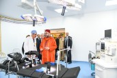HM King Mohammed VI inaugurates in the Youssoufia neighborhood in Rabat a medical center, built by the Mohammed V Foundation for Solidarity