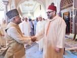 SM el Rey Mohammed VI, Amir Al Muminin, preside en el Palacio Real de Rabat la segunda charla religiosa del mes sagrado de Ramadán